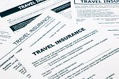 image of reimbursement  - travel insurance form paperwork and questionnaire for insurance concepts - JPG