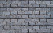 picture of cinder block  - Architectural details - JPG