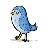 pic of bluebird  - cartoon bluebird - JPG