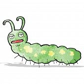 picture of caterpillar cartoon  - cartoon happy caterpillar - JPG
