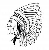 picture of apache  - Apache Head Vector Art and Illustration Editable - JPG
