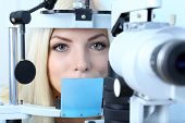 picture of slit  - Optometry concept  - JPG