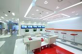 image of reception-area  - Empty light office in modern style - JPG