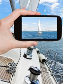 picture of yachts  - travel concept  - JPG