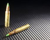 stock photo of piercings  - Green tipped ammunition that some consider armor piercing - JPG