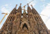 picture of gaudi barcelona  - Barcelona Spain - JPG