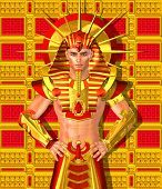 picture of pharaohs  - Egyptian Pharaoh Ramses - JPG