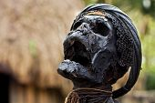 stock photo of petrified  - Petrified mummy - JPG