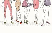 picture of sketch  - sketch fashion models - JPG