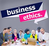 image of integrity  - Business Ethics Integrity Honesty Trust Concept - JPG