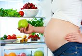 pic of refrigerator  - nutrition and diet during pregnancy - JPG