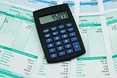 stock photo of payroll  - financial concept - JPG