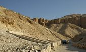 pic of burial-vault  - valley of the kings luxor  - JPG