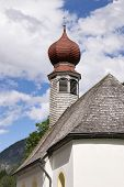 pic of chapels  - Image of a chapel in Austria Tyrol - JPG