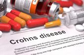 pic of hemorrhage  - Crohns Disease  - JPG