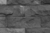 picture of wall-stone  - This picture is stone wall texture Its made from stiff stone - JPG