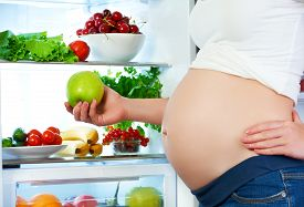 picture of fruits  - nutrition and diet during pregnancy - JPG
