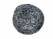 Hammered Silver Groat Of Henry Vi 143-1431 Obverse