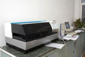 pic of medical equipment  - medical equipment for analysis in a laboratory - JPG