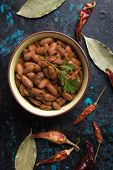 Cooked white kidney beans ready for eating poster
