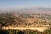 stock photo of tora  - Hermon Mountain And Golan Heights View - JPG