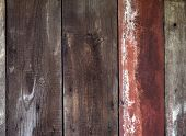 Vintage Wood Texture Background. Dark Wood Texture. Natural Wood Patterns.  Wood Texture Top View. H poster