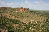 foto of dogon  - A view of the Dogon country - JPG
