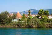picture of dalyan  - Travel on Lycian Tombs of ancient Caunos city - JPG