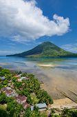 picture of gunung  - Gunung Api active volcano Banda islands Indonesia - JPG