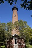 picture of whalehead club  - Picturesque Currituck Beach Lighthouse in Corolla - JPG