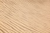 image of sandstorms  - wind forms beautiful structures in the dunes at the beach - JPG