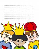 foto of melchior  - Letter to the Three Kings - JPG