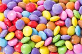 pic of easter candy  - Colorful chocolate candy - JPG