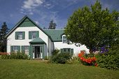 Green Gables House in Prince Edward Island National Park. Made famous in the book 'Anne of Green Gab