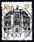 Postage Stamp South Africa 1973 Old University, Cape Town