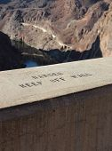 pic of hydroelectric  - Hoover Dam Hydroelectric Structure on Colorado River