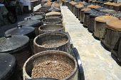 Traditional soy-sauce factory