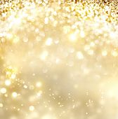 pic of golden  - Christmas Background - JPG