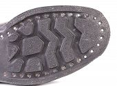 pic of sole  - Black shoe sole - JPG