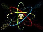 stock photo of proton  - Atom symbol - JPG