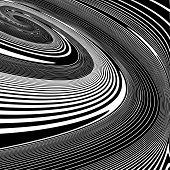 image of helix  - Design monochrome helix movement illusion background - JPG