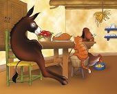 stock photo of donkey  - A donkey - JPG