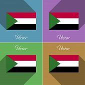 picture of sudan  - Flags of Sudan - JPG