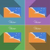 foto of tierra  - Flags of Tierra del Fuego Province - JPG