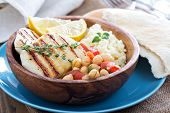 foto of tabouleh  - Chickpea salad - JPG