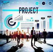 foto of enterprise  - Project Job Operation Activity Enterprise Concept - JPG