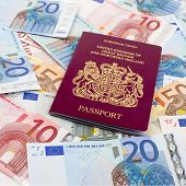 UK Passport and Euros