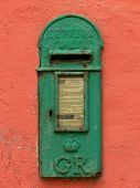 Old Irish Mail Box