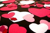 Valentines Background 6 poster