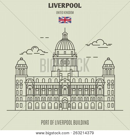 Port Of Liverpool Building In